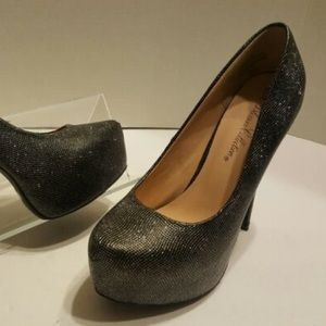 Heels with Platform (sparkly)